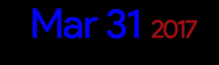 deadline-31-mar-2017